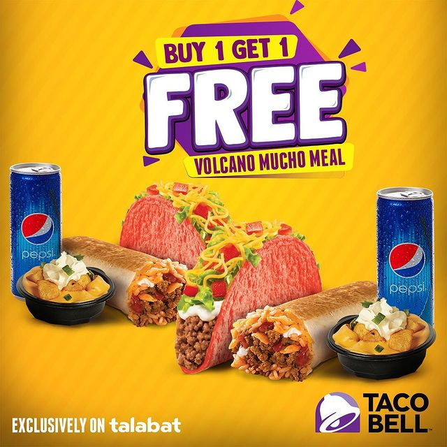 Taco Bell kuwait offers