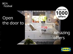 IKEA Festival Offers Leaflet cover page
